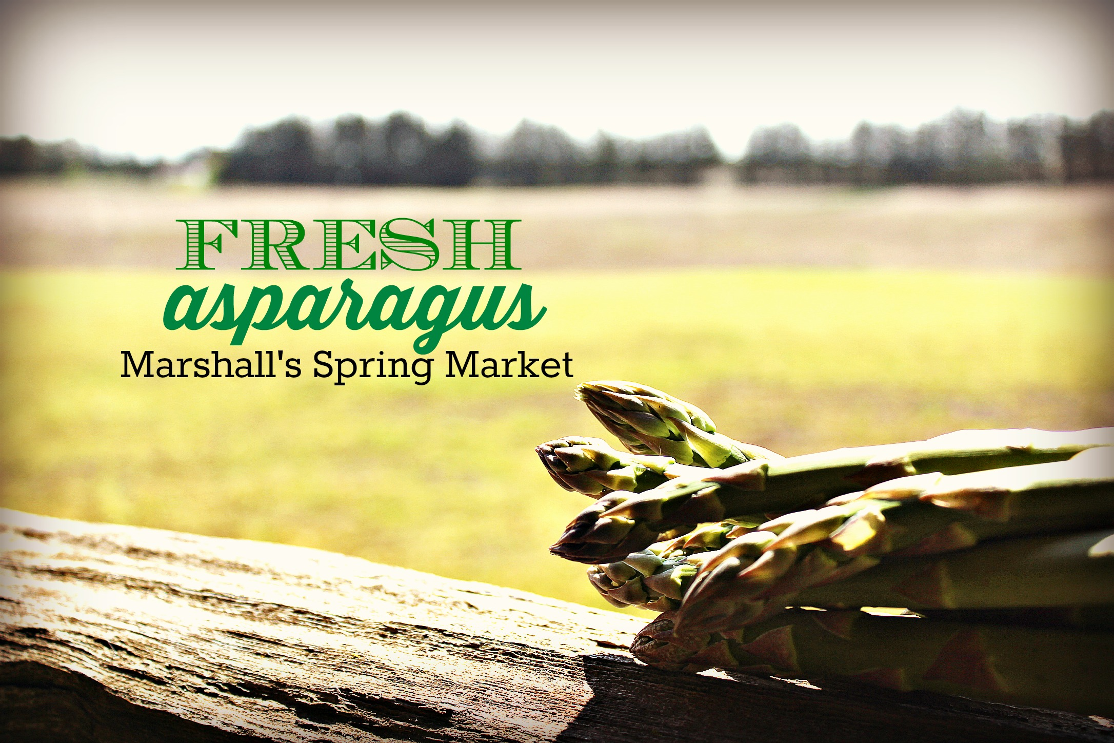 Asparagus, how do you like yours?